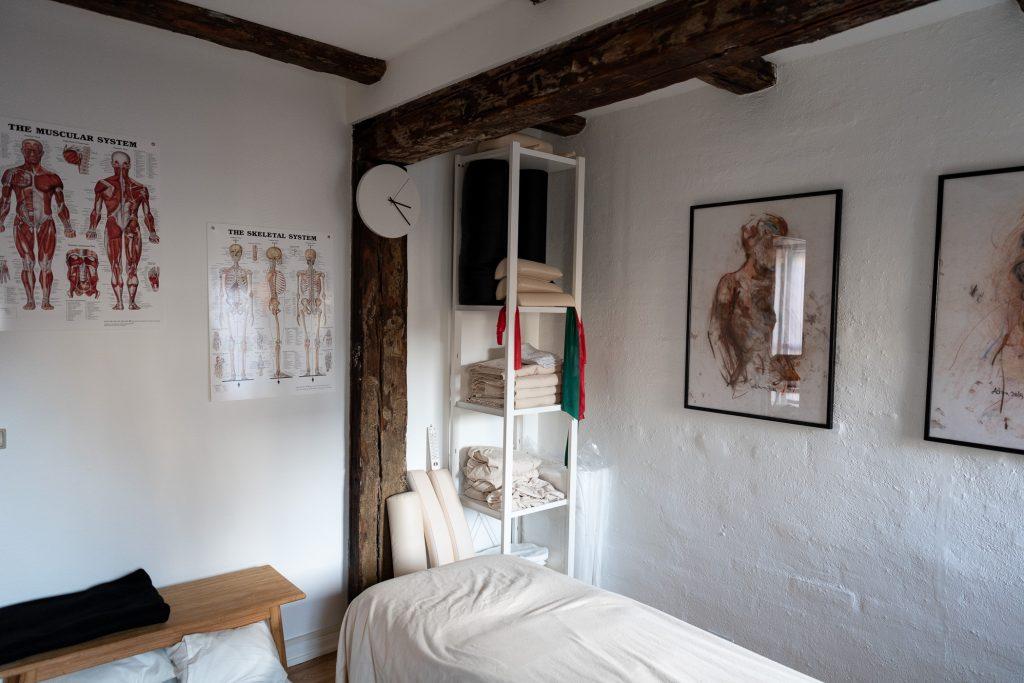 Zency massage Aarhus behandlerrum