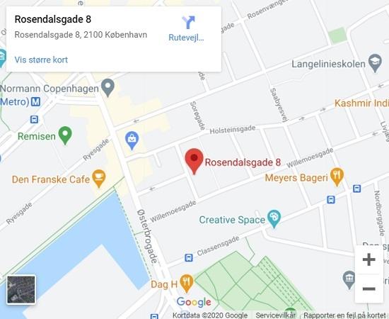 Zency Massage Østerbro lokation v. Zanne Romanoff